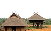 タイ族の高床式の家