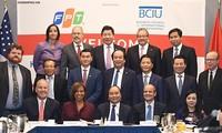 フック首相 米の大手企業と対話