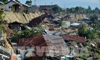 ベトナム、インドネシア地震克服に緊急支援