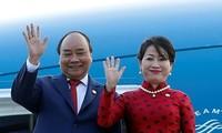 フック首相、日本訪問を開始
