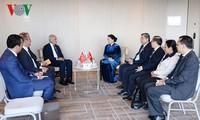 ガン国会議長 トルコの対外経済評議会議長と会見