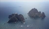 韓国の国会議員が竹島上陸 日本が抗議