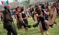 バナ族の村長の威信