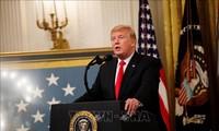 米大統領 中国との貿易摩擦緩和に前向き 政権内に慎重な見方も