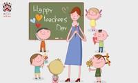 学校や教師を讃える曲