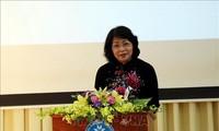 ティン国家副主席 タイグエン大学を訪れる