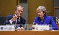 英首相、欧州首脳と協議継続=EU離脱案で結論出ず