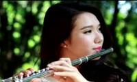 竹笛の演奏