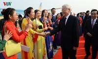 チョン党書記長・国家主席によるラオス公式友好訪問