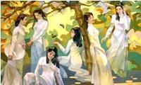 ベトナムの女性の美しさを讃える曲