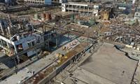 中国江蘇省の工場爆発 62人死亡 28人不明に