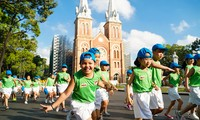 国民の健康のためのオリンピックラン