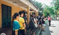 「若き文化の使者」外国人観光客の案内人