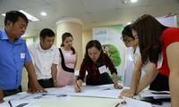 農村女性の気候変動対応を支援