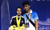 ベトナム アジア重量挙げ選手権大会で金メダル3個