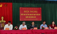 フォン国会副議長 ソンラ省の有権者と会合