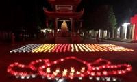 カオバン省で、「傷病軍人・戦没者の日」に応える儀式
