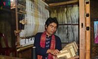 パコ族の錦織りの保存