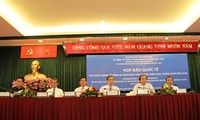 Jumpa pers internasional tentang aktivitas-aktivitas memperingati ultah ke-40 pembebasan total Vietnam Selatan dan penyatuan Tanah Air (30 April 1975-30 April 2015)