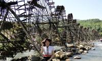Jentera air di kecamatan Ban Bo-Bangunan yang kreatif dan  unik dari warga etnis-etnis provinsi Lai Chau