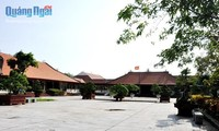Situs-situs peninggalan sejarah yang tipikal di provinsi Quang Ngai