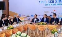 Presiden Vietnam, Tran Dai Quang  bertemu dengan badan-badan usaha besar AS