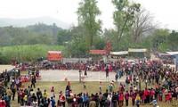 Pesta Balai Desa Ngoc Tan-Tempat menyimpan permainan-permainan rakyat  yang unik