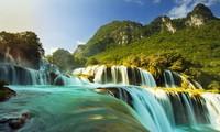 Mengkonservasikan dan mengembangkan nilai-nilai khas  Geopark  Sungai dan Gunung Cao Bang