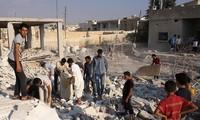 Rusia   mendesak pasukan koalisis  internasional  bertindak secara bertanggung jawab di Suriah