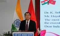 Upacara peringatan ultah ke-72 Hari Kemerdekaan Republik India