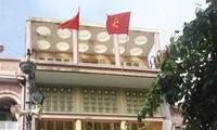 Rumah  di Jalan Hang Ngang nomor 48, Ibukota Ha Noi-tempat Presiden Ho Chi Minh menulis Teks Proklamasi Kemerdekaan