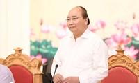 PM Vietnam Nguyen Xuan Phuc melakukan temu kerja di Provinsi Quang Ninh