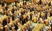 MU PBB mengheningkan cipta  untuk  Presiden Viet Nam, Tran Dai Quang