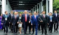 Presiden Viet Nam, Tran Dai Quang dan selar-selar yang turut meningkatkan  posisi  Viet Nam