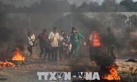 Bentrokan  terus  terjadi di Jalur Gaza