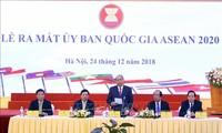 Pembukaan acara unjuk muka Komite Nasional ASEAN 2020