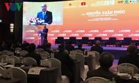 PM Viet Nam, Nguyen Xuan Phuc menghadiri Forum Ekonomi Viet Nam-tahun 2019