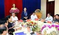 Ketua MN Viet Nam, Nguyen Thi Kim Ngan melakukan kunjungan kerja di Provinsi Kon Tum