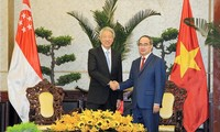 Aktivitas Deputi PM Singapura,  Xiao Zhixian di kota Ho Chi Minh