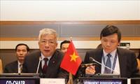 Viet Nam berseru kepada komunitas internasional supaya bersinergi mengatasi akibat perang demi perdamaian dan perkembangan yang berkesinambungan