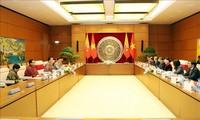 Ketua MN Viet Nam, Nguyen Thi Kim Ngan mengadakan pembicaraan dengan Ketua Majelis Tinggi Kerajaan Bhutan