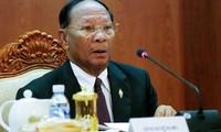 Ketua Parlemen Kerajaan Kamboja, Samdech Heng Samrin  melakukan kunjungan resmi  ke Viet Nam