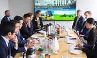 Badan usaha  Norwegia  ingin bekerjasama dengan Kota Ha Noi  tentang pembangunan kota pintar