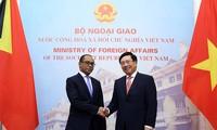Viet Nam dan Timor Leste memperkuat kerjasama di banyak bidang
