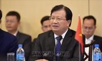 Deputi PM Trinh Dinh Dung melakukan kunjungan kerja di Republik Kesatuan Tanzania