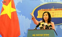Viet Nam melaksanakan kedaulatan, hak berdaulat dan hak yurisdiksi secara damai, sesuai dengan hukum untuk membela zona laut dari Tanah Air