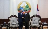 Memperkuat  kerjasama antara Kantor Pemerintah Viet Nam dan Laos