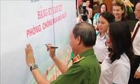 Rapat umum untuk menyambut  Hari seluruh rakyat  mencegah dan memberantas   perdagangan manusia (30 Juli)