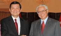 Entretien de haut niveau Vietnam-Singapour