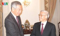 Milestones in 40 years of Vietnam-Singapore cooperation